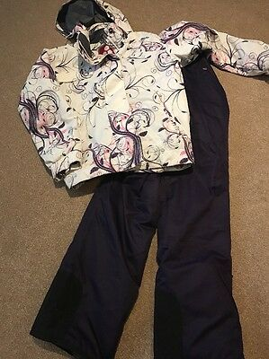 Tog 24 Ski Outfit Age 13/Size 8 Jacket And Salopettes