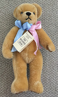 "THE WEDDING BEAR Duke & Duchess of York MERRYTHOUGHT LTD 16"" Made in England Tan"