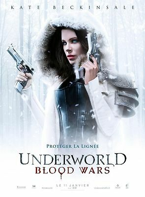 UNDERWORLD BLOOD WARS Affiche Cinéma / Movie Poster Kate Beckinsale 160x120