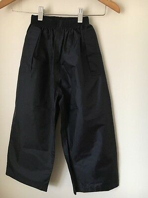 Regatta Navy Age 5-6 Waterproof Trousers  T9059