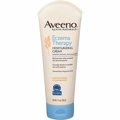 Aveeno Active Naturals Eczema Therapy Moisturizing Cream 7.3oz NEW FREE SHIPPING
