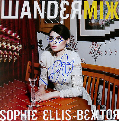 "SOPHIE ELLIS-BEXTOR * WANDERMIX * LIMITED EDITION 12"" w/ SIGNED SLEEVE * BN&M!"