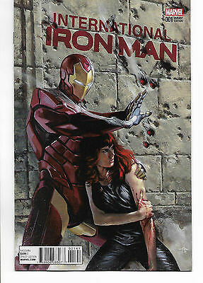 International Iron Man #1 - 1:25 Gabriele Dell'Otto variant cover - Marvel