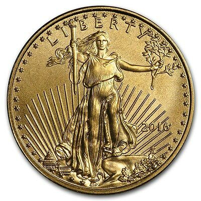 SPECIAL PRICE! 2016 1/10 oz Gold American Eagle Coin Brilliant Uncirculated