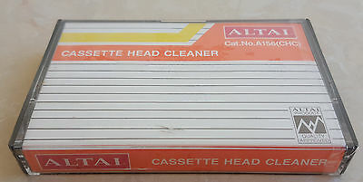 Altai A156 Vintage Audio Cassette Head Cleaner Brand New Sealed