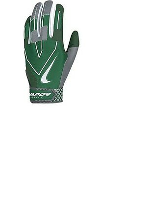 Nike Vapor Elite Batting Gloves Men's XLarge New With Tags Green Gray NWT