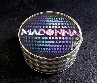 Madonna * Icon Fan Club Only T-Shirt In Mirrorball Tin * Htf! * Confessions Era