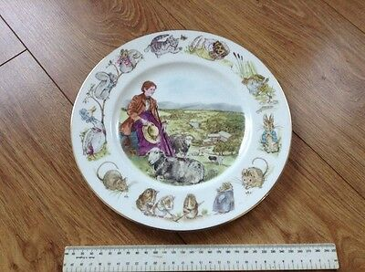 """The National Trust """"beatrix Potter"""" Limited Edition Of 1000 Plate By Wedgwood"""