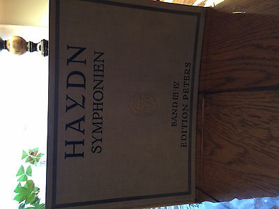 haydn musical note book