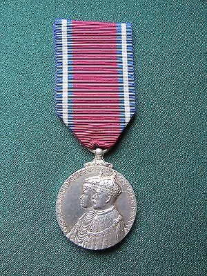 Jubilee Medal G.V.R. 1935 to an Indian Doctor.