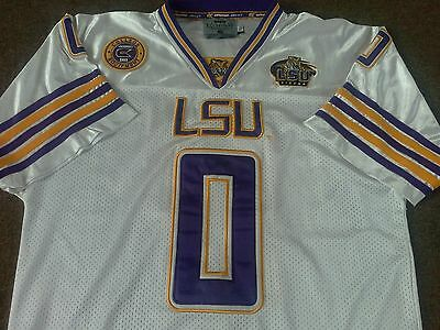 LSU Tigers American Football Jersey - Adult Medium - Fully Stitched - NCAA NFL