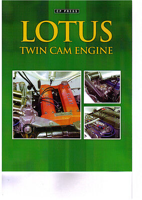 Lotus Twin Cam Engine   New BOOK !!!!