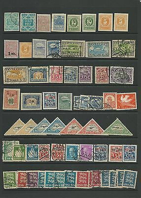 Estonia Mint and Used 65+ stamps