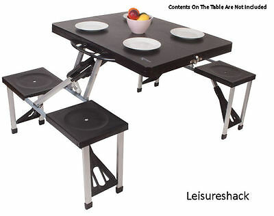 Kampa Happy Table Folding Table And Chair Set Ideal For Picnic Camping Caravan