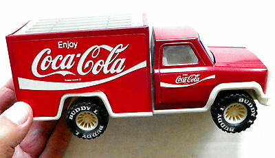"1979 Buddy-L ""enjoy Coca-Cola"" Large Steel Delivery Truck #5217"