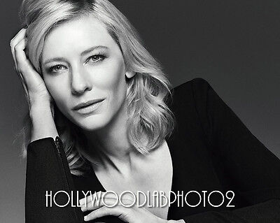 CATE BLANCHETT 8x10 Lab PHOTO Glossy Portrait Print Sexy Hollywood Celebrity