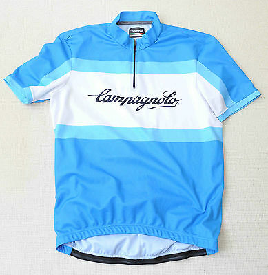 Campagnolo Blue And White Cycle Jersey  Size Xl *vgc*