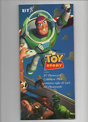 Toy Story Phone Card Pack