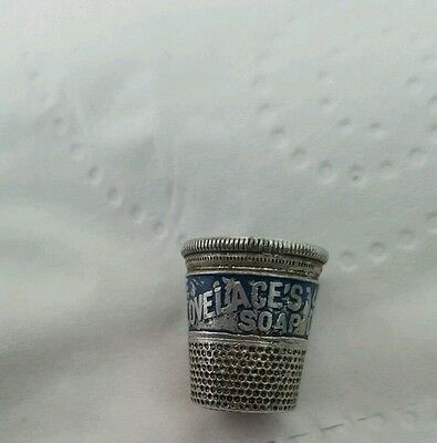 vintage thimble.  1 x Dr Lovelaces Soap.
