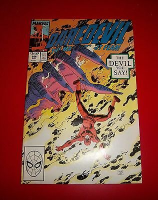 Daredevil #266 The Devil You Say!  Excellent Condition Bagged / Boarded 1989