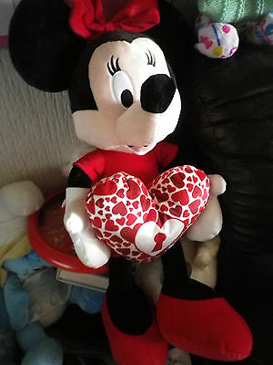 """Large 24"""" Minnie Mouse Valentine plush from Clintons"""
