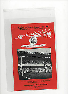 Arsenal -Gunflash - January 1965