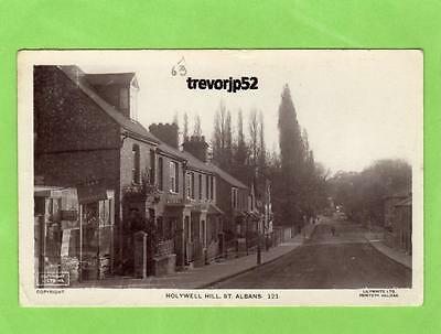 Holywell Hill St Albans  RP pc used 1923 Lilywhite  Ref A773
