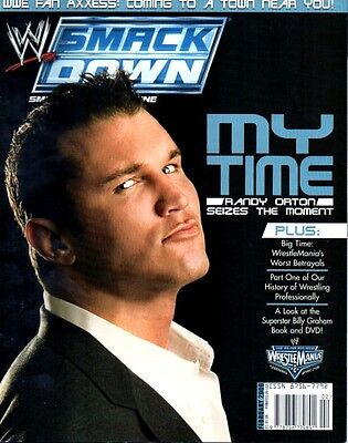 WWE Magazine February 2006 Randy Orton On Cover Wrestling