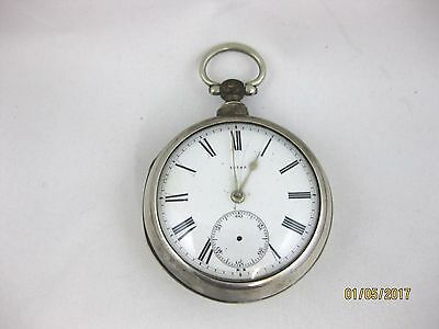 Antique Solid Silver  PAIR CASED POCKET WATCH  Hallmarked  LONDON 1862