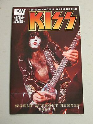 KISS 3 COVER RI B FIRST PRINTING Gene Simmons Paul Stanley Ace Frehley Peter