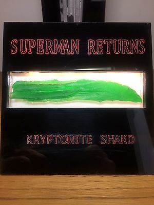SuperMan Returns Kryptonite Shard Movie Prop Original