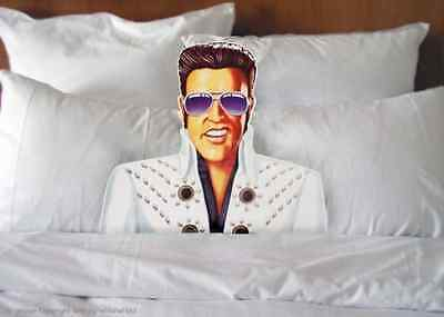APPROX 900 NOVELTY ELVIS BED HEAD Share a duvet with the King NOVELTY