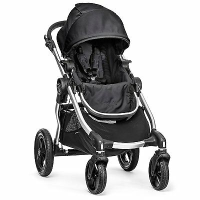 Baby Jogger City Select Single - Silver Frame, Onyx - 1959406