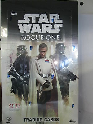 2016 Topps Star Wars Rouge One Series 1 Hobby Box ( New )