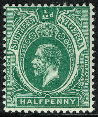 Sg 45 S.nigeria 1912 - Halfpenny Green - Mounted Mint
