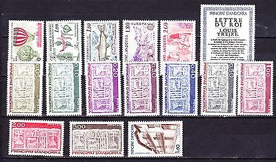 Andorre  Annee 1983 Timbres Neufs++