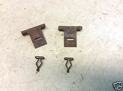 1964 1/2 1965 1966 1967 1968 Mustang Package Tray Front Mounting brackets & Clip