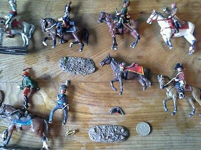 Lot of Del Prado Lead Toy Soldiers and Horses