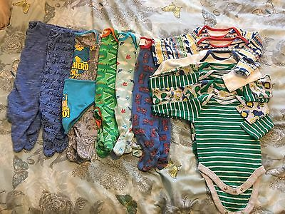 Up to 3 Months / 0-3 Months Baby Boys Bundle Mothercare/next/boots
