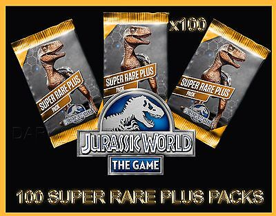 Jurassic WORLD The Game Builder 100 SUPER RARE PLUS packs Android iOS park