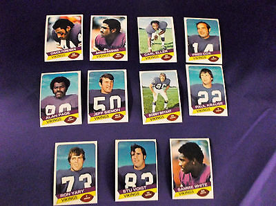 1977 VIKINGS PACKERS Topps Holsum Bread Set & 3 FREE CARDS & PACK
