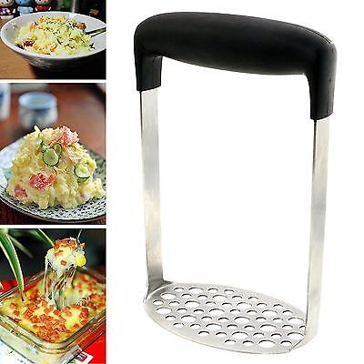 Stainless Steel Potato Ricer Egg Masher Vegetable Fruit Crusher Utensil Kitchen
