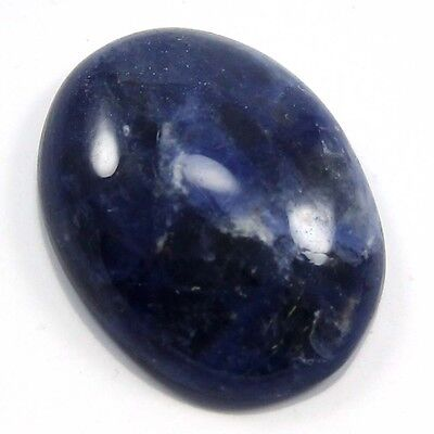 13.35 cts Natural Beautiful Sodalite Gemstone Oval Loose Cabochon For Jewelry