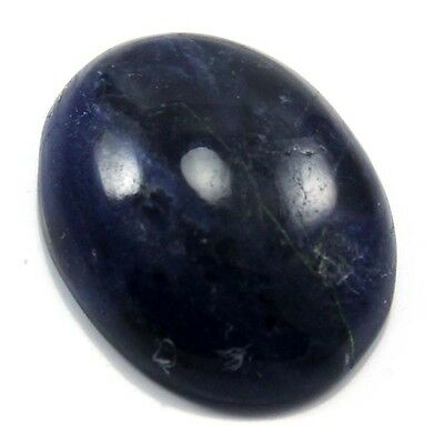 13.50 cts Natural Beautiful Sodalite Gemstone Oval Loose Cabochon For Jewelry