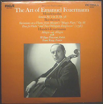 LP  EMANUEL FEUERMANN - the art of