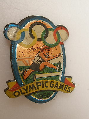 Rare vintage OLYMPIC GAMES 1956 Games of the XVI Olympiad, Australia  PIN BADGE
