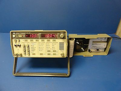 Hewlett Packard 4935A Transmission Test Set w/1 18064A noise to ground adapter