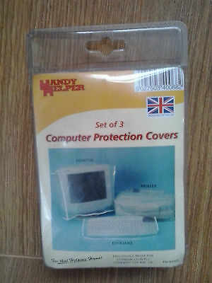 Set Of 3 Computer Protection Covers