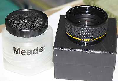 Meade Focal Reducer/Field Flattener f/6.3 Series 4000-Multi-Coated-Made in Japan