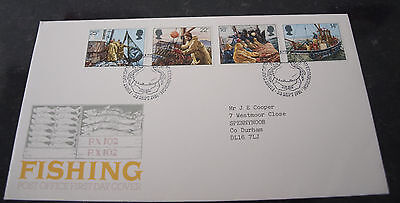 First Day Cover of Fishing Industry 23rd Sept 1981